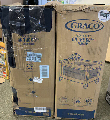 GRACO PACK 'N PLAY ON THE GO PLAYARD W/BASSINET, STRATUS