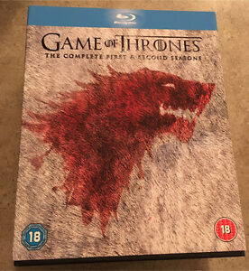 Game of Thrones - Seasons 1 and 2 Blu-ray