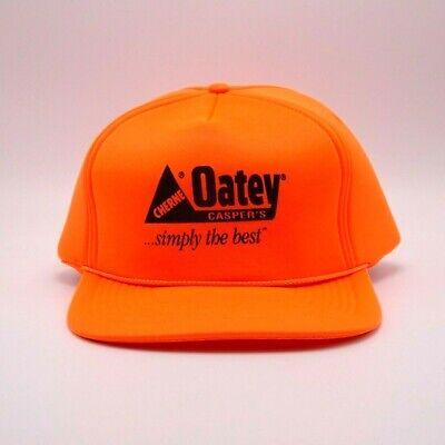 Oatey - Blaze Orange hat - Snapback cap - Full Foam Lining - plumbing - Oatey Plumbing Supplies