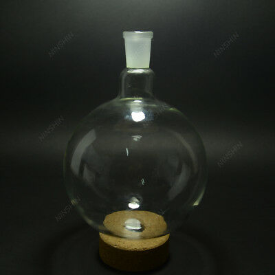 2000ml2440sigle Neckround Bottom Glass Flaskone Neck2l Lab Boiling Bottle