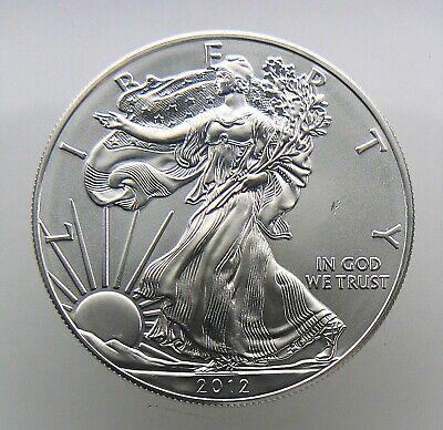 2012 SAE SILVER AMERICAN EAGLE 1 OZ COIN