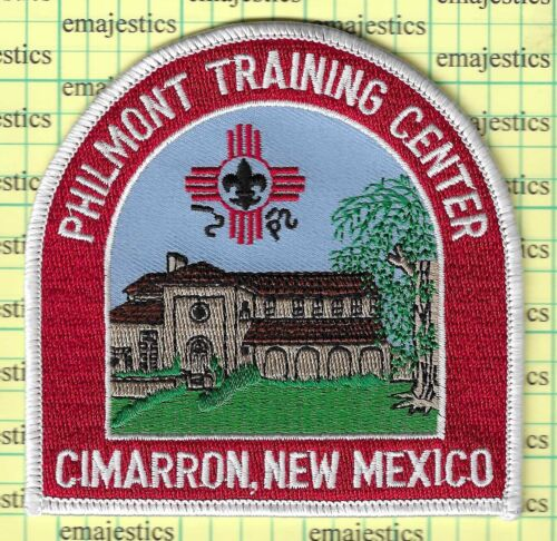 BSA PHILMONT SCOUT RANCH TRAINING CENTER CIMARRON NEW MEXICO DOME PATCH