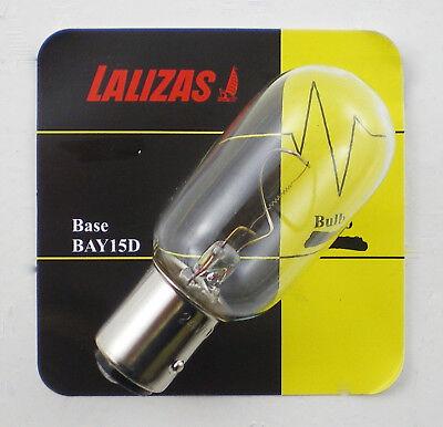 - Bay 15D Base Marine Navigation Light Bulb 12v 24v 10w 25w Boat Sailing