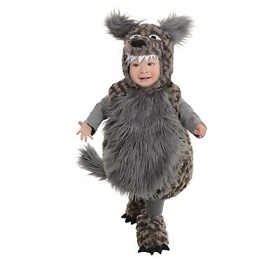 Big Bad Wolf Costume Baby Toddler Kids Halloween Fancy 18-24 Months - Baby Wolf Costume