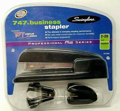 Swingline 747 Metal Business Desk Stapler Black Staple Puller And Mini Stapler