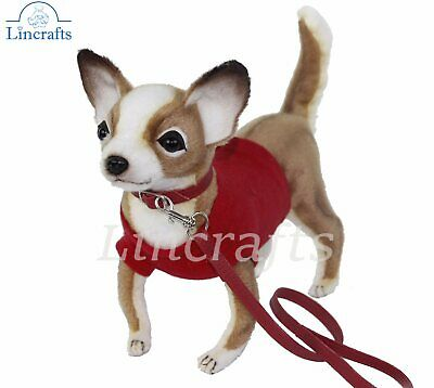 Hansa Chihuahua Red T 7551 Plush Soft Toy Sold by Lincrafts Established...
