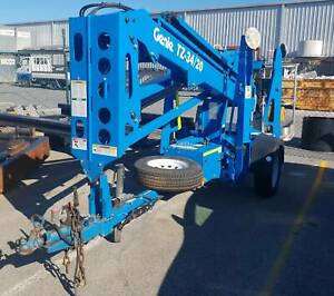 Genie TZ34-20 trailer mount cherry picker Like new Malaga Swan Area Preview