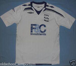 BIRMINGHAM CITY FC / 2007-2008 Away - UMBRO - JUNIOR Shirt / Jersey. Size: 146cm - Poland, Polska - BIRMINGHAM CITY FC / 2007-2008 Away - UMBRO - JUNIOR Shirt / Jersey. Size: 146cm - Poland, Polska