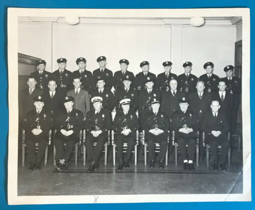 1944 Hamilton Township Police Department Mercer County New Jersey Photograph