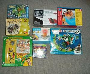 8 Games Build Your Own Robot Science Electronic Motor Meccano kid Applecross Melville Area Preview