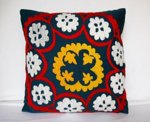 20x20 Suzani pillow,Vintage pillow,Uzbekistan pillow,Throw pillow,Suzani pillow