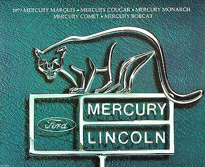 Mercury Grand Marquis Station Wagon (Lrg. 1977 Mercury Brochure: COUGAR/XR-7,GRAND MARQUIS,COMET,BOBCAT,Station Wagon )