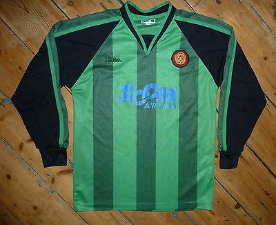 M - Motherwell FC Football Shirt Goalkeeper ZOOM 2004/06 Soccer Jersey Scotland image