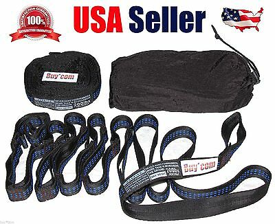 Ultimate adjustable Tree Hanging Atlas Straps Suspension System for ENO Hammock