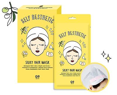 {G9SKIN} SELF AESTHETIC SILKY HAIR MASK [30g x 5ea] - Korea Cosmetic