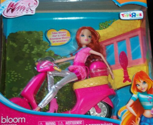 WINX CLUB * BLOOM with SCOOTER * 2012 11.in Tall