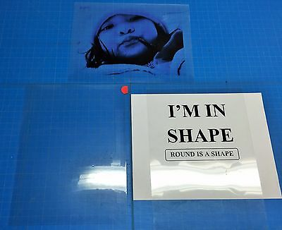Premium Transparency Film Inkjet Paper Pack Of 5 Sheets8.5x11 U.s Stocked