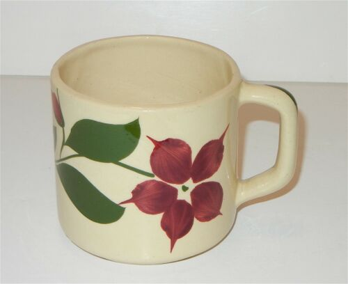VINTAGE WATT POTTERY STARFLOWER #61 COFFEE MUG