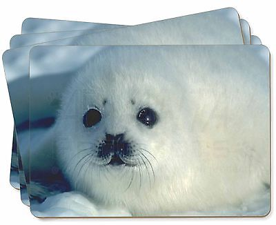 Snow White Sea Lion Picture Placemats in Gift Box, AF-S13P