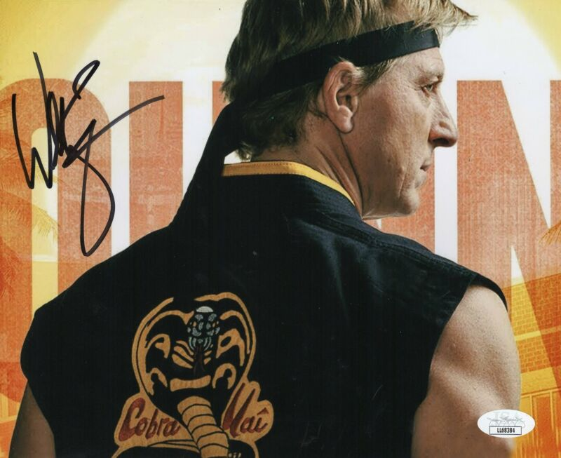 William Zabka Autograph 8x10 Photo Cobra Kai Johnny Signed JSA COA