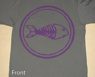 Fishbone 2013 Tour Purple Fish Logo Shirt NEW S M