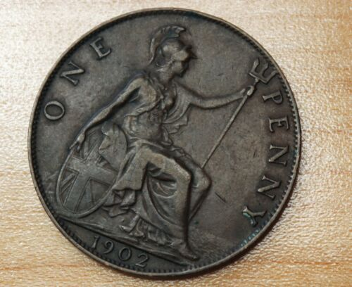 1902 Great Britain 1 Penny