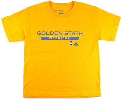 Golden State Warriors Youth Cut and Paste T-shirt Gold (Youth Large 14/16) - Gold State Warriors