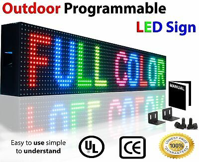 Wi-fi Full Color Digital Business Programmable Graphic Led Sign Board 6 X 76