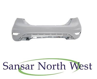 Ford Fiesta Mk7 - Rear Bumper Primed 2013 - 2017 Models Bare
