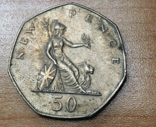 1976 Great Britain 50 Pence