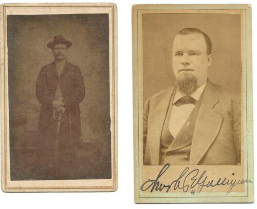 Civil War CDV Union Private John Galligan 2nd Mich Cav & VRC