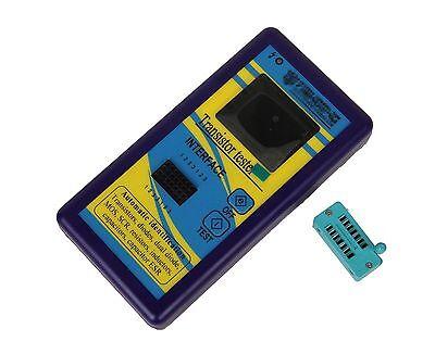 New Color Lcd Component Tester Transistor Diode Capacitance Esr Meter Inductance
