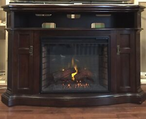 Electric Fireplace Mantel /TV Stand