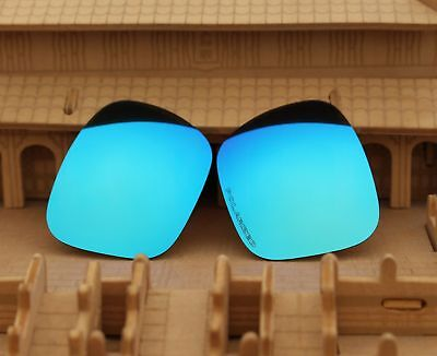 ACOMPATIBLE Polarized Lenses Replacement for-Oakley Holbrook - Blue Mirror