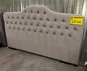 KING AND QUEEN BED HEADS - REDUCED TO CLEAR Epping Whittlesea Area Preview