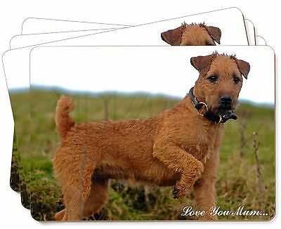Lakeland Terrier 'Love You Mum' Picture Placemats in Gift Box, AD-LT1lymP
