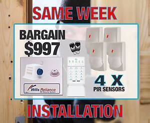 HOME ALARM SYSTEM FULLY INSTALLED FOR ONLY $997 MOBILE MONITORING Wollert Whittlesea Area Preview