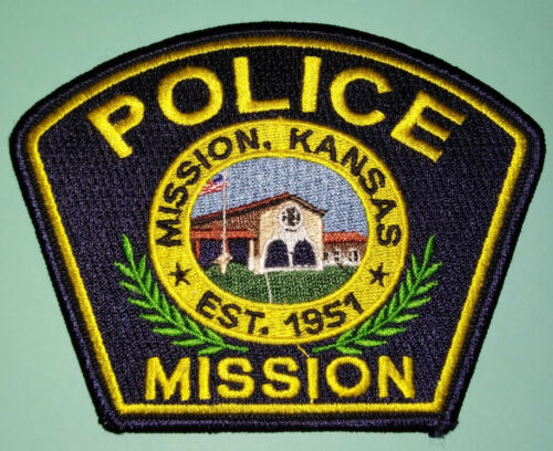 Mission Kansas Police Patch (Old Style) // FREE US SHIPPING!