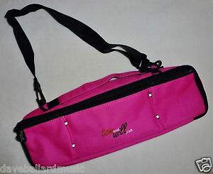 TOM-and-WILL-FLUTE-Gig-Bag-Carry-Case-cover-HOT-PINK