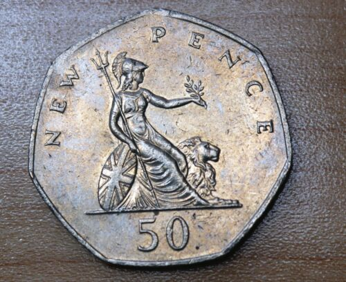 1980 Great Britain 50 Pence