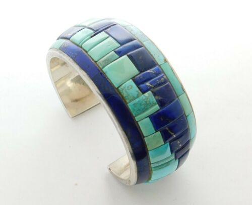 DANNY STEWART Navajo Cobblestone Sterling Silver Bracelet