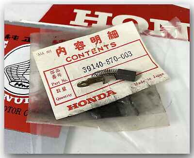 Genuine Honda Em400 Portable Generator Alternator Carbon Brush 39140-870-003 Nos