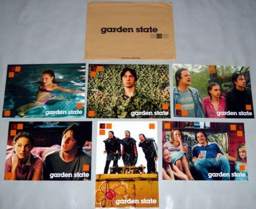 GARDEN STATE  Zach Braff Natalie Portman Peter Sarsgaard 6 FRENCH LOBBY CARDs