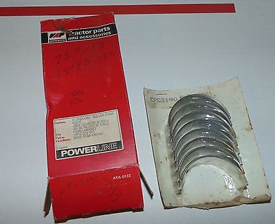 K207436 New Tractor 4 Pc Rod Bearing Set For David Brown 990 995 996 1200 1210