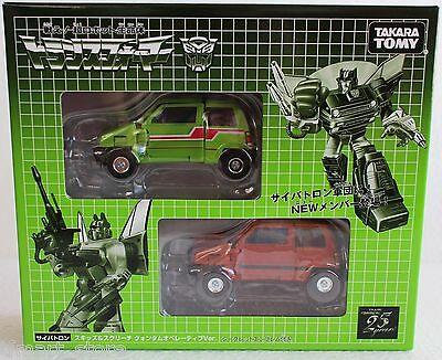 NEW Transformers Generations 2009 Volume 03 - Exclusive Skids + Screech Takara