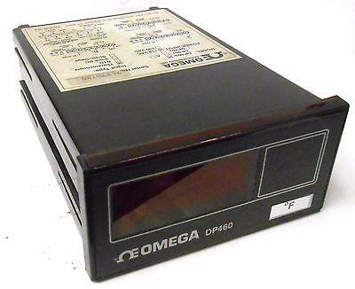 Omega Dp460 Digital Panel Temperature Meter 115 Vac Range -999 To 9999