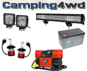 LED Work Lights Vehicle Lighting Header Spread Spot Light Bar Heathridge Joondalup Area Preview