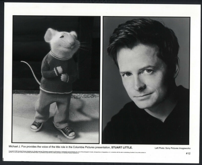 Stuart Little '99 COMPUTER ANIMATION MOUSE MICHAEL J FOX