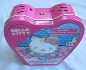 Sanrio Hello Kitty Puzzle - Lenticular - Tin Case - 100 Pieces