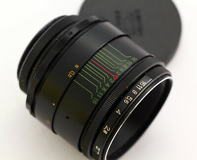 Best! HELIOS 44-2 M42 58mm f/2.0 Soviet Lens for Zenit Pentax